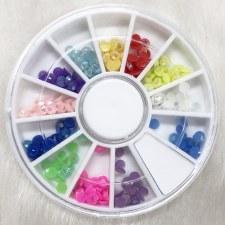 Acrylic Stone Neon Circle Mix Wheel