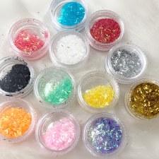 Glitter In Box-lsr Slk-12mx-jy