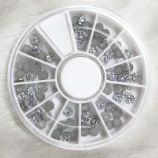Diamond In Wheel-3 Color Ring