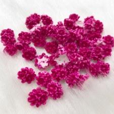 Plastic 3d Flowercharm#11/20da