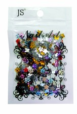 Acrylic Flower Stones-Assorted Sizes Bag