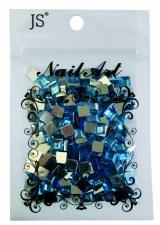 Acrylic Square Stones-Assorted Sizes Bag
