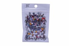 Acrylic Heart Stones-Assorted Sizes Bag