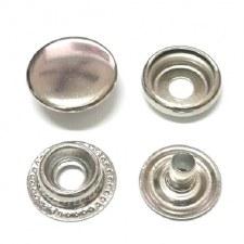 Cap Snap-silver-sz 20