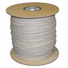 Bungee Cord-White-144 yds-1/16""