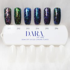 Dara Chrome Flake Gel Set