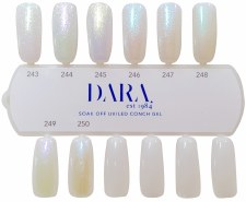 Color Chart - Conch Gel - 8 Colors