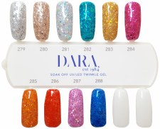 Color Chart - Twinkle Gel - 10 Colors
