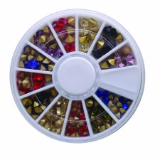 Diamond In Wheel-Mix Color Point Back