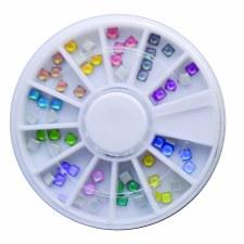 Acrylic Stone Neon Square Mix Wheel