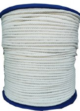 Cotton Draw Cord-White-64B-144 yds