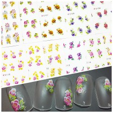 Large Sticker Sheet E105-115