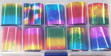 Holographic Nail Transfer Foil