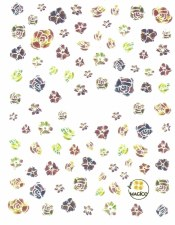 Medium Nail Sticker 001