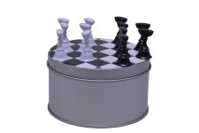 Nail Practice Frame-chessboard