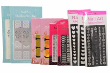 Nail Stencil Sticker-mix