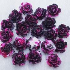 Plastic 3d Flower Charm#1/20da