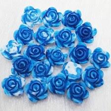 Plastic 3d Flower Charm#5/20da