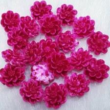Plastic 3d Flowercharm#10/20da