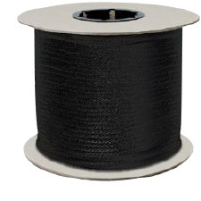 Polyester Draw Cord-Black-48B-288 yds