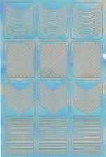 Nail Stencil Sticker - 01