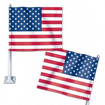 United States of America Car Flag 11.75'' x 14''