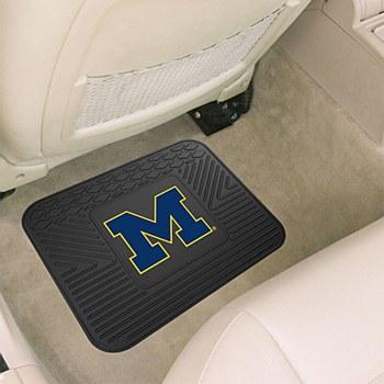 University of Michigan Car Mat Vynyl Single 14'' x 17''