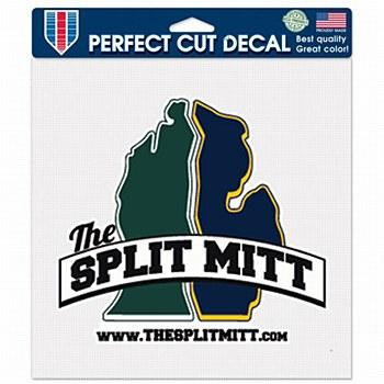 The Split Mitt Perfect Cut Decal 8'' x 8''