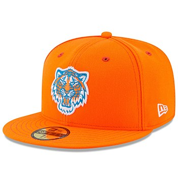 Detroit Tigers 2017 MLB LITTLE-LEAGUE 59FIFTY Orange Fitted Hat by New Era