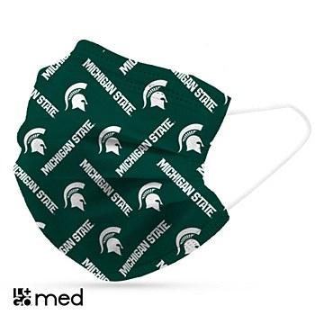 Michigan State University Disposable Mask 6 Pack