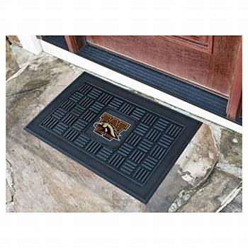 Western Michigan Vinyl Door Mat 19.5'' x 31.25''
