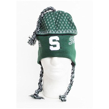 Michigan State University Hat -Toboggan Kint