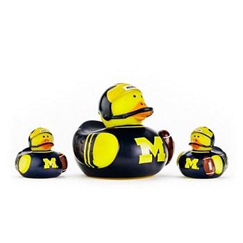 University of Michigan Wolverines 3-Pack All Star Ducks