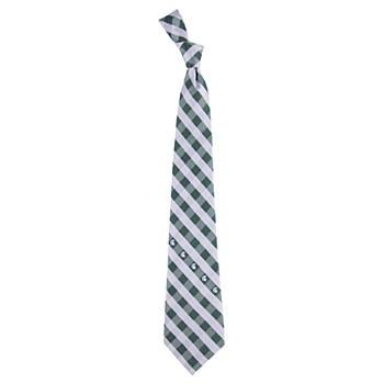 Michigan State University Necktie Spartans Check