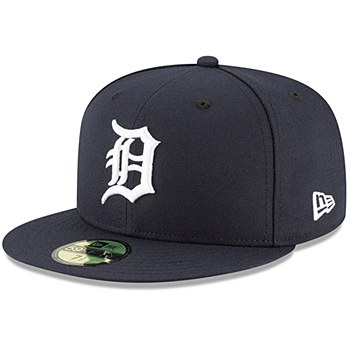 Men's Detroit Tigers New Era Navy Authentic Collection Home On-Field 59FIFTY Fitted Hat