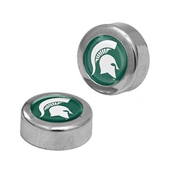 Michigan State University License Plate Screw Covers