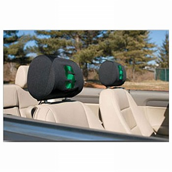 Michigan State University Headrest Covers Set Of 2