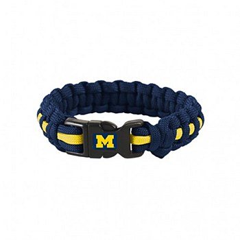 University of Michigan Survival Bracelet