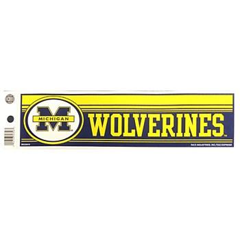 University of Michigan Decal - Bumper Sticker