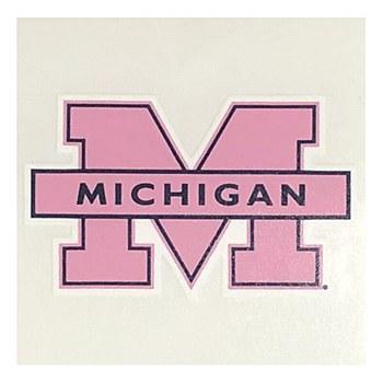 University of Michigan Decal - 3'' Die Cut Sticker