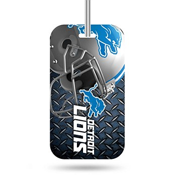 Detroit Lions Crystal View Luggage Tag