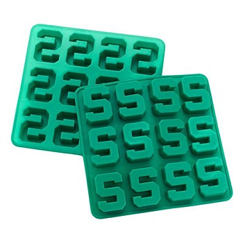 Michigan State University Silicone Ice Cube Trays