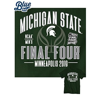 Michigan State Spartans 2019 Final Four Green Factor T-Shirt