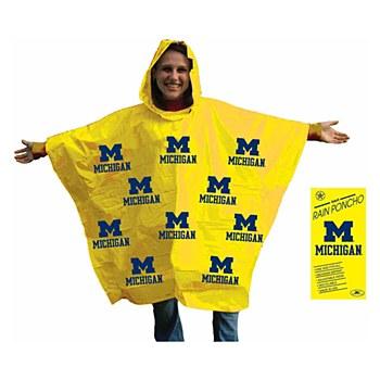 University of Michigan Rain Poncho