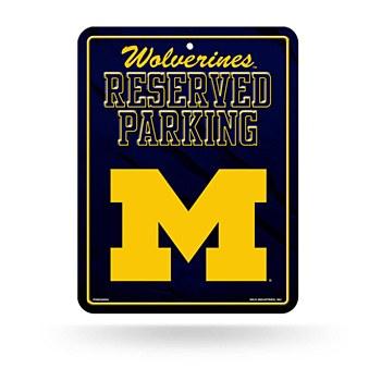 University of Michigan Sign - Metal Parking 8.5''x11''