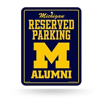 University of Michigan Sign - Alumni Parking
