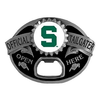 Michigan State University Tailgater Belt Buckle