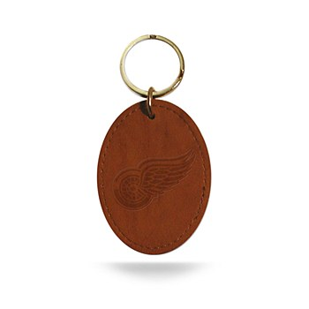 Red Wings Leather Keyf Chain
