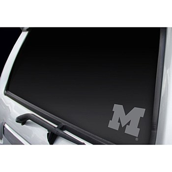 University of Michigan Decal Professional Window Graphics