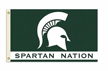 Michigan State University Flag - Spartan Nation 3' x 5'